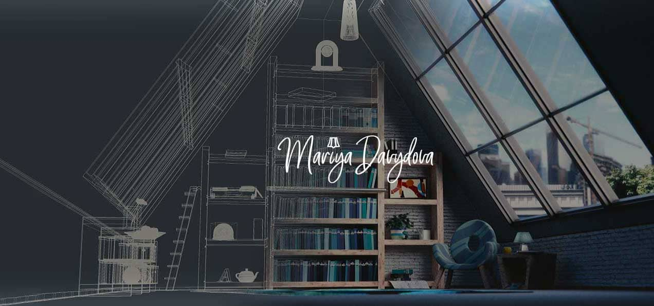 Создание бренда для дизайнера интерьеров Марии Давыдовой