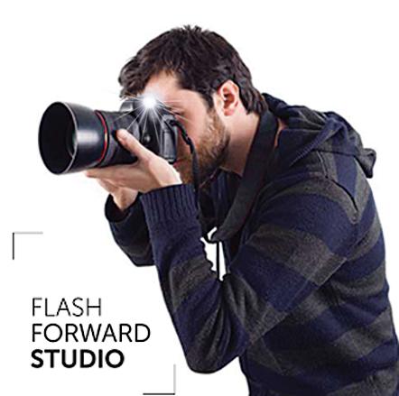 Дизайн логотипа и сайта для фото-агентства