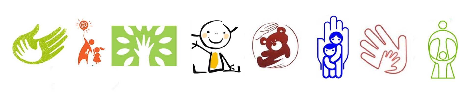 разработка фирменного логотипа фонда. Пример
