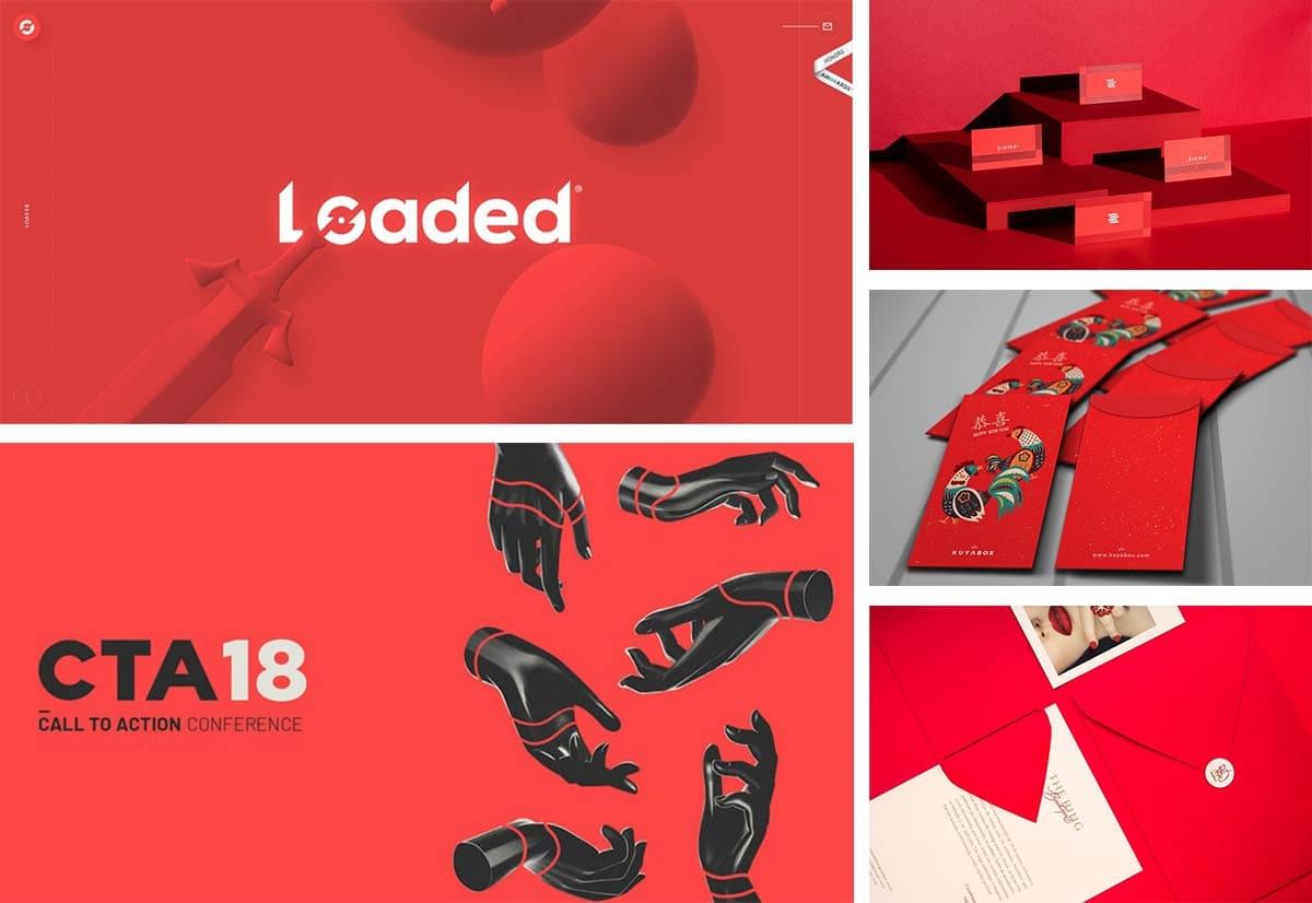 Цветовые тренды 2019. 8 трендовых цветов для графического дизайна. Красный цвет